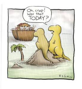 Noah's ark and the dinosaurs