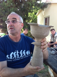 Aren and the chalice from D