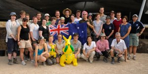Aussies from all areas with Australian ambassador
