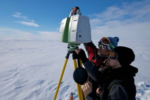 LIDAR on sea ice