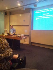 Arening lecturing in Melbourne at Capstone lecture 13_8_13