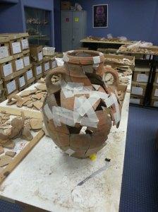 pottery restoration Oct 13 1