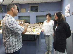 Rona Ramon in lab