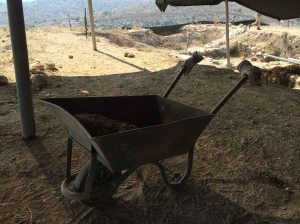 Wheelbarrow working on its own