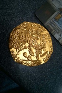 coin from summer camp 2014