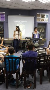 shira and mor summer camp 2014