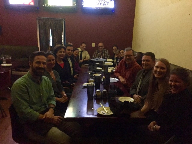Safi team supper at ASOR 2015