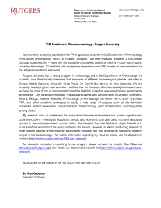 rutgers-phd-positions-microarchaeology